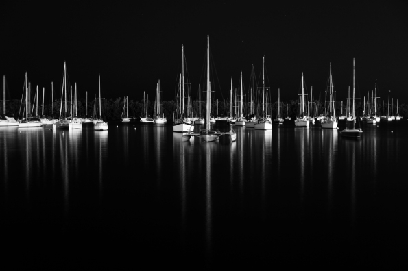 Barry Steven Greff Photography, Coconut Grove, Florida, Moonlight, Nature, Seacapes, Sailboats