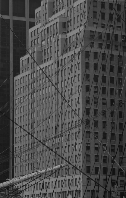 NYC Boat Ropes and Building 5647