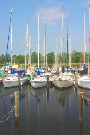 New Bern Grand Marina, NC 2005